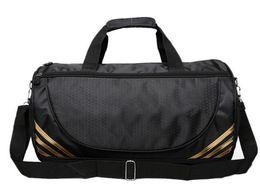 Wholesale Taekwondo Bags - Sports package drum swimming new gym bag one-shoulder bag yoga taekwondo round bucket bag custom logo