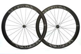 Wholesale Carbon Road Bike Wheels 25mm - Velosa Full carbon road bike wheel, 50mm clincher tubular ,classic 25mm width 700C road bike carbon wheel