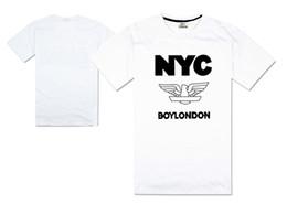 abbigliamento stampa londra Sconti nuova moda t shirt ragazzo londra  canotte tees aquila alta qualità manica 8d67415b7a9