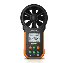 Wholesale Uses For Wind - MS6252A Wind Gauge Meter Professional Wind Speed Test Meter Multifunction Digital Anemometer Tachometer Use for Air Volume