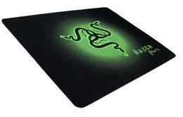 Wholesale Pcs Cs - 2017 PC mouse mat pad Razer 210X250X1.5mm Goliathus Locking Edge Gaming Speed Version Mousepad For Lol CS Dota2