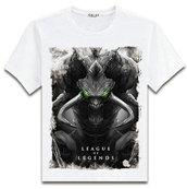 Wholesale Shirt Tribal - Alistar T shirt Cow head Tribal chief short sleeve League of Legends design tees Lol Game clothing Men cotton Tshirt