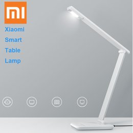 Wholesale rates table - Wholesale-2016 Original Xiami Smart Table Lamp Connect with WIFI Cell Phone Control 4000K Color Temperature Without Flash Rate Without UV
