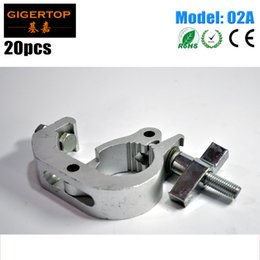 Wholesale Hardware Hooks - TIPTOP 02A 20PCS STAGE LIGHT C-Clamps Theater Lighting Mounting Hardware Aluminum Allay Load 200kg Big Hook Quick Connect
