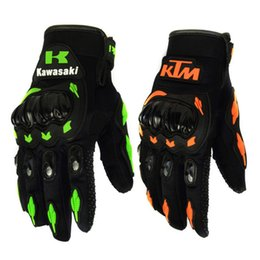 Wholesale Country Cycle - Outdoor Sports Gloves Authentic KTM Racing Motorcycle Autoengine Protection Anti Slip Gel Pad Cycling Gloves Cross-country Motorcycle Gloves