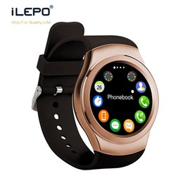 Wholesale Used Kids Quad - Notification smart watch K8 for android IPS screen GSM quad band Pedometer and sleep monitor fitness tracking smartwatch