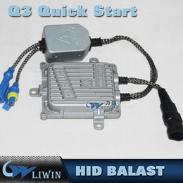 Wholesale Hid Ballasts Wholesale - 12V55W AC Fast Bright Slim Ballasts HID Xenon Replacement 0.1 Second Quick Start Ballasts 12V Fast Start Hid Ballast IP67 Hid Ballast