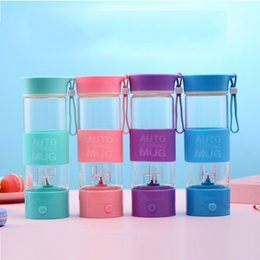 Wholesale Hand Held Mixers - Auto Stirring Mug Personal Blender With Travel Cups Men And Women Sports Fitness Multi Color 28 5yd C R