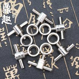 Wholesale Tattoo Gun Machine Design - Tattoo Machine Gun Handle Lock Nut Screw Supplies for Tattoo Machine Gun Top Design Screw Nut TG5504