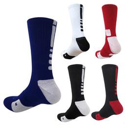 2017 marque mens élite Élastique de haute qualité coton chaussettes de basket-ball serviette bas genou haute chaussettes de sport pour hommes femmes ? partir de fabricateur