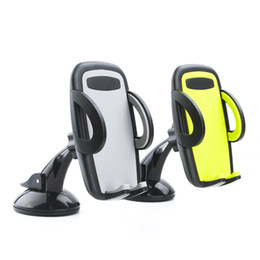 Wholesale Note Windshield - Universal Car Windshield Mount Holder phone car holder For iPhone SE 6 6s 5S 5C 5G 4S MP3 iPod GPS Samsung Galaxy note