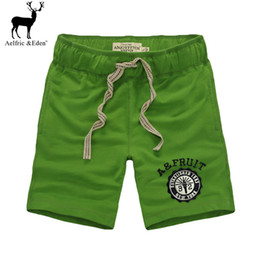 Wholesale Building Clothes - Wholesale- 2017 Summer High Quality mens Shorts Men Body Building green Short Golds New Brand Clothing And brand clothing solid men Shorts