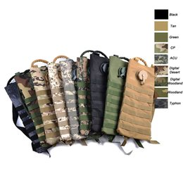 Wholesale Molle Tactical Hydration - Outdoor Sports Assault Combat Camouflage Molle Bag Tactical Molle Pouch Water Pouch 2.5L 3L Hydration Pack SO11-605