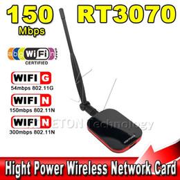 Wholesale Usb Wifi Antenna High Range - Wholesale- Hot Sale High Power Speed N9000 Free Internet Wireless USB WiFi Adapter 150Mbps Long Range + Wi fi Antenna Wi-fi Receiver