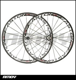 Wholesale China Roads - Easton 38mm carbon wheels Made in China carbon alloy wheels glossy matte bike wheelset clincher Free shipping