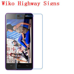 Wholesale Highway Signs - Tempered Glass Screen Protector For WIKO Highway Signs Phone touch screen protector