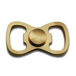 Wholesale Metal Toy Bow - New Arrival Multi Function Bow Tie Shape Bottle Opener & Metal Fidget Hand Spinner Anti Stress Toys for Adults Novetly Practical Gadget