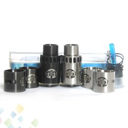 Wholesale Alliances Rings - Huge Vapor Alliance RDA 22mm Peek insulator Alliance Atomizer Kit with 2 Replacement Metal Rings Fit 510 Mods DHL Free