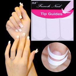 Wholesale Tips Polish Dryer - Wholesale- Belen UV Gel Nail Polish Set Pink White Color Coat Free Tip Guides Gel Polish French Manicure Kit Sets UV Led Lamp Dry