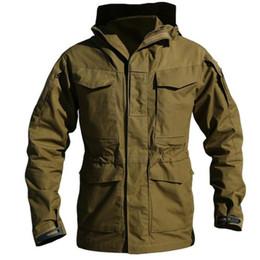 Wholesale Tactical Jacket Hoodie - Army Clothes Casual Tactical Windbreaker Men Winter Autumn Waterproof Flight Pilot Coat Hoodie Jacket Free Shipping
