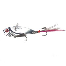 Wholesale Spoon Frog Fishing - Fishing Lure Mixed Colors Metal Spoon Bait Soft Lure Kit Wobbler Frog Fishing Tackle pesca iscas artificias