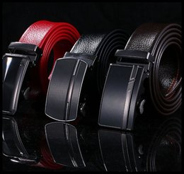 Wholesale Pu Belt Manufacturers - manufacturers selling men's automatic belt buckle Pure alloy buckle package sideband wholesale high quality PU leather belt belt men
