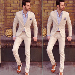 Wholesale Men S Satin Pants - Hot Mens Slim Fit Wedding Suits Groom Tuxedos Groomsmen Formal Suit Jacket+Pants