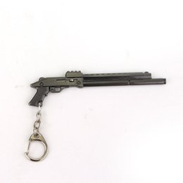Wholesale Weapon Keyring Keychain - Gun Weapon Shape Pendant Keychain Keyrings Gifts For Men And Women Of Character Free Shipping