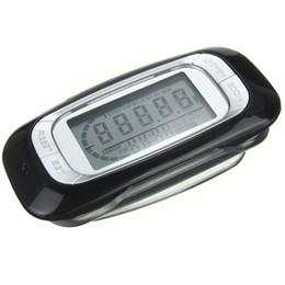 Wholesale Digital Counter Sensor - Wholesale- Hot Sale 3D Sensor LCD Display Digital walking Pedometer with 7-Day Memory Step Calorie Distance Counter Health Tracker Black