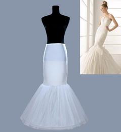 Wholesale Tailing Petticoats - Puffy skirt Wedding panniers mermaid tail skirt mermaid tail wedding dress slip mermaid tail slim hip petticoat