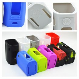 Wholesale RX300 Silicone Cases Colorful Rubber Sleeve Protective Cover Skin Enclosure for Wismec Reuleaux Reux RX W TC Vape Box Mod