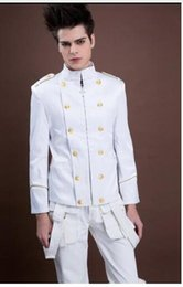 White Men's Double Breasted Suits Canada | Best Selling White ...