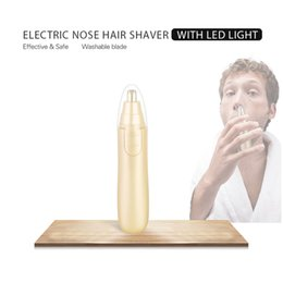 Wholesale Hair Shaving Women - Electric Nose Shaver Ear Hair Trimmers Cleaner Tools Shave & Hair Removal 1.5V 1 AA Battery Operated Gift for Men Man Woman