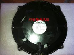 Ventilador de enfriamiento ebm online-ebm 20cm W1G180-AB31-10 24V 93W 4.3a ventilador de refrigeración de 4 líneas