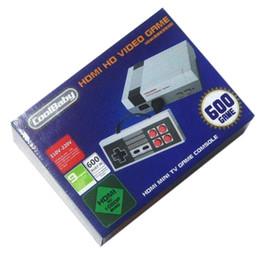 HOT HDMI Mini Classic TV Игровые приставки CoolBaby 600 Модель видеоигры для 600 NES HD игровой консоли от Поставщики 32 г таблетки