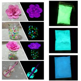 Wholesale Fluorescent Pigment Powder - New luminous powder Nail Glitter Powder Dust Luminous Pigment Fluorescent Powder Nail Glitters Glow in the Dark