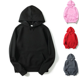 Wholesale Cool Hooded Sweatshirts - 2017 Mens Fashion Funny Solid Cool Black Hoodies Fitness Streetwear Hip hop Tracksuits Pullover Gray Hooded Sweatshirts