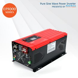 Wholesale Sine Wave Inverter 5kw - MUST Power Pure Sine Wave Low Frequency Power Inverter EP3000 5kW by SolarBaba