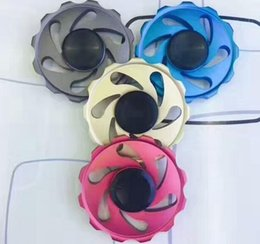 Wholesale Big Novelty Ring - EDC Rainbow Wind-fire Rings Wheel Fantastic Hand Fidget Finger Spinner Gyro Toys Novelty Gag Decompression Adults Children Educational Gifts