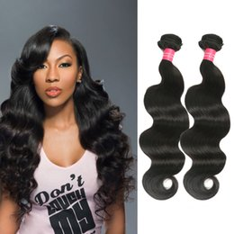 Wholesale Sexy Hair Extensions - 7A Malaysian Body Wave Hair Bundles Unprocessed Cheap Human Hair Sexy Formula Hair Extensions Malaysian Virgin Body Wave Fast Free Shipping