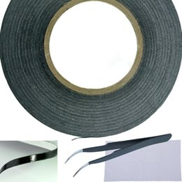 Wholesale Cell Phone Cleaning Cloths Wholesale - Adhesive Sticker Tape for Use in Cell Phone Repair - 2mm Tape - also including 1 Pair of Tweezers Microfiber Cleaning Cloth (black)