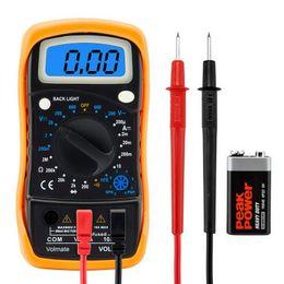 Wholesale Dc Volt Ammeter - Digital Voltmeter Ammeter Ohmmeter Multimeter Volt AC DC Tester Meter