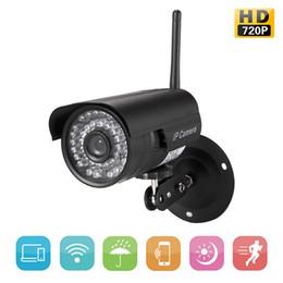 cámaras de zoom largo Rebajas IP impermeable al aire libre de la cámara de vigilancia de HD 720P de la cámara de WIFI soporte protocolo ONVIF