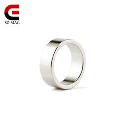 Wholesale Magnet Magnetic Ring - 2pcs Internal Strong Magnetic Ring Magic Prop Dia.20mm Ring Rare Earth Neodymium magnet N40