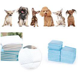 Wholesale Diaper Disposable - Wholesale- 100PCS Disposable Doggie Diapers Female Pet Dog Cat Diaper Paper Underwear Soft High Quality