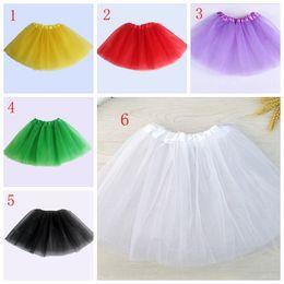Wholesale Girls Cotton Candy Dress - 13 colors Top Quality candy color kids tutus skirt dance dresses soft tutu dress ballet skirt children pettiskirt clothes