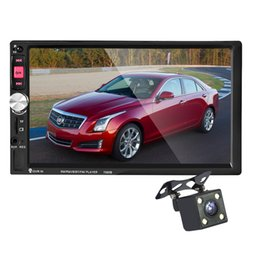 Wholesale Rds Transmitter - AV870B 12V 7 inch Bluetooth 2.1 RDS FM Car MP5 Radio Player Reversing Rear View 203231001