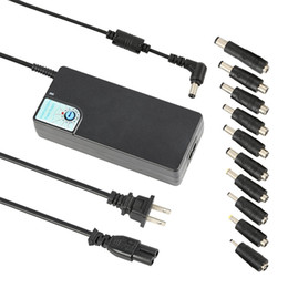 Wholesale Usb Switch Supply - 5pcs High quality Upgraded SP26 120W Universal Laptop Power Supply 12-24V Switching Adapter Charger with USB 5V 2.4A for Most Brand Notebook