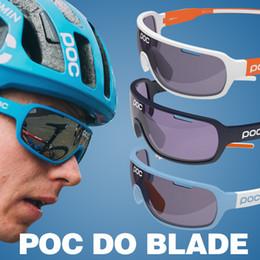 Wholesale Sun Glass Polarized - POC Sun glasses Hot 2017 Polarized Eyewear UV400 Men sunglasses Women 3 Lens with one pcs Polarized lens