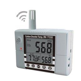 Wholesale Co2 Meter Air - Wholesale- AZ-77232 Indoor Air Quality Meter Wallmount CO2 Temp RH Monitor